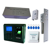 单门指纹门禁考勤SINGLE DOORS ACCESS CONTROL&TIME ATTENDANCE电插锁