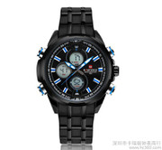 LUXURY BRAND WATCHES MEN'S TAG LCD DIGITAL CHRONOGRAPH WATCH